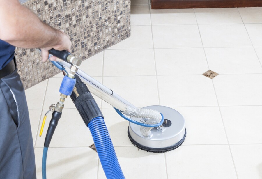 Tile & grout cleaning by Certified Green Team