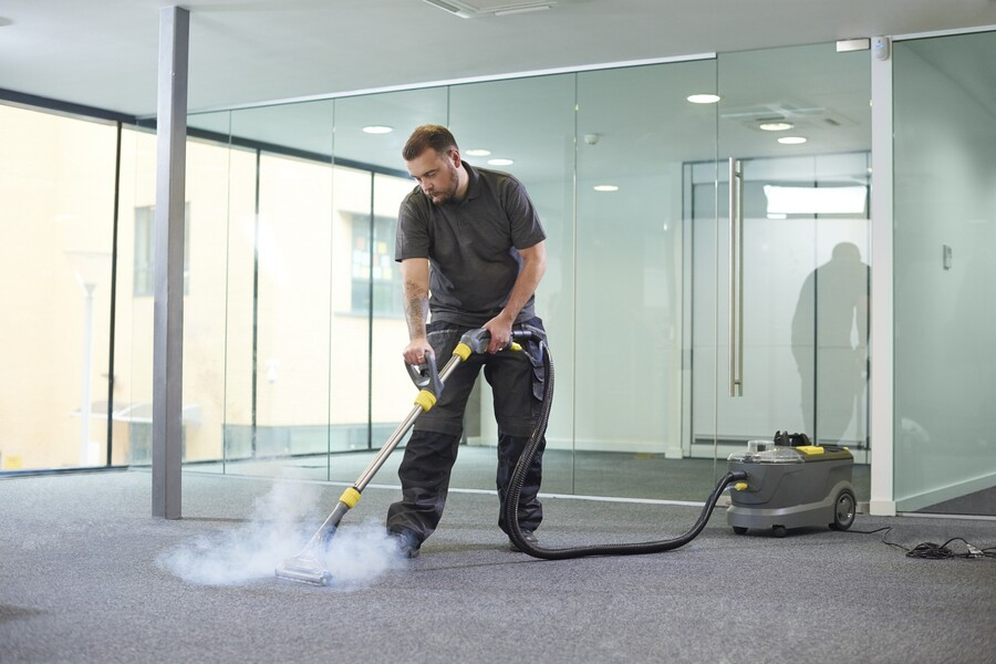 Commercial carpet cleaning by Certified Green Team